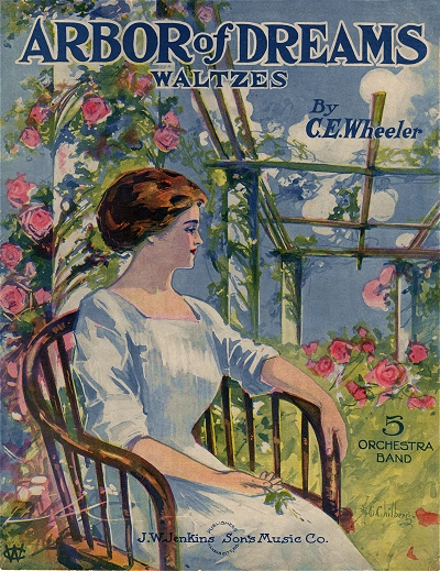 chilberg sheet music covers