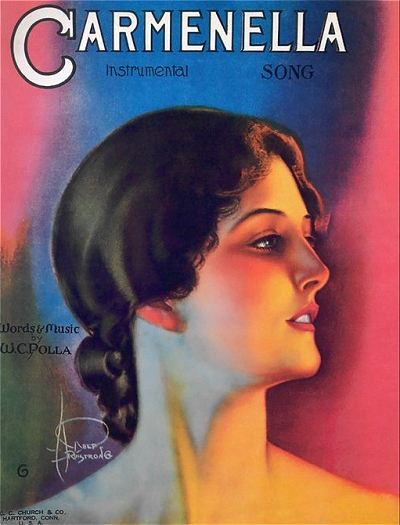 rolf armstrong sheet music covers