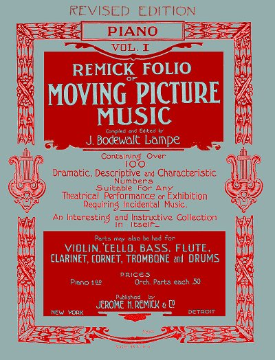 Remick Folio of Moving Picture Music