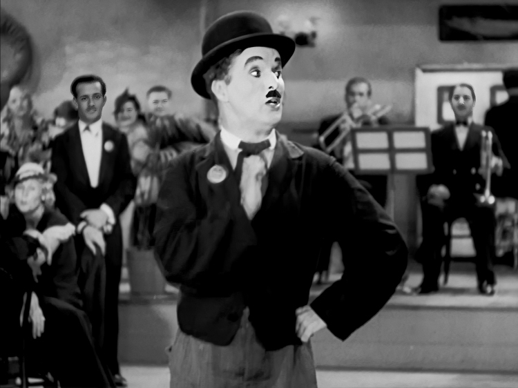 chaplin performing titina in modern times