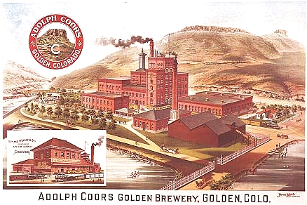coors brewery in colorado