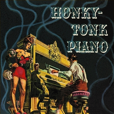 honky tonk piano album cover