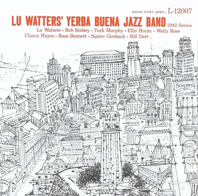 yerba buena jazz band album cover